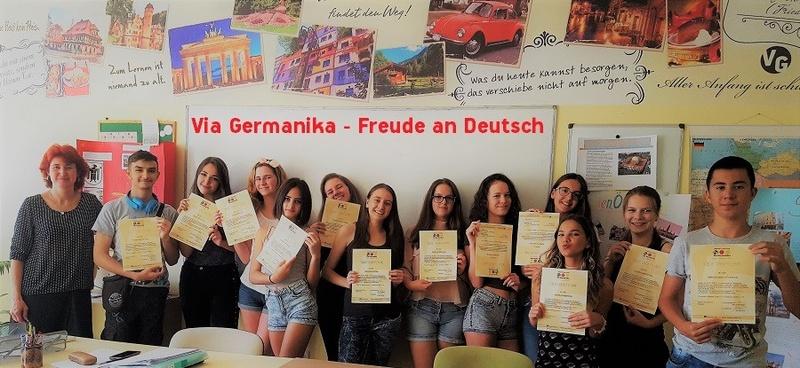 Немски езиков център Виа Германика - учи немски със специалисти
